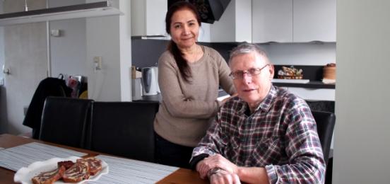 Louis Huivenaar en zijn vrouw